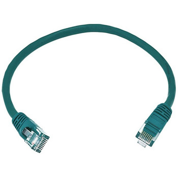 Monoprice Cat6 24AWG UTP Ethernet Network Patch Cable, 1ft Green