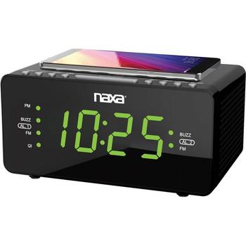 Naxa NRC-191 Desktop Clock Radio - Stereo
