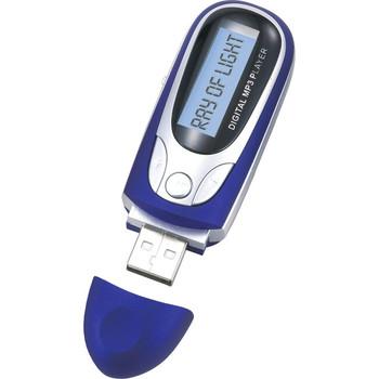Naxa NM-105 4 GB Flash MP3 Player - Blue