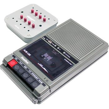 Hamilton Buhl Classroom Cassette Player and Recorder, 8 Position Jackbox