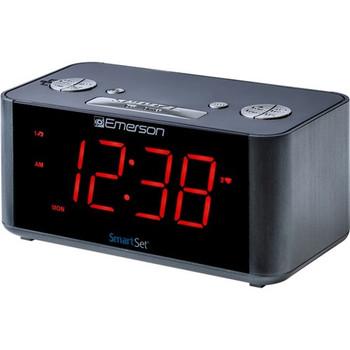 Emerson SmartSet ER100201 Desktop Clock Radio