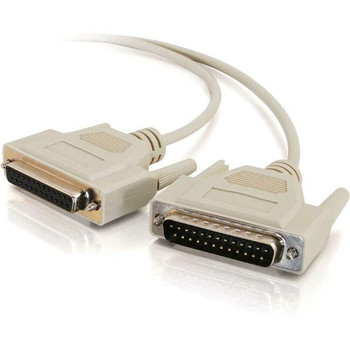 C2G 6ft DB25 Male to DB25 Female Null Modem Cable