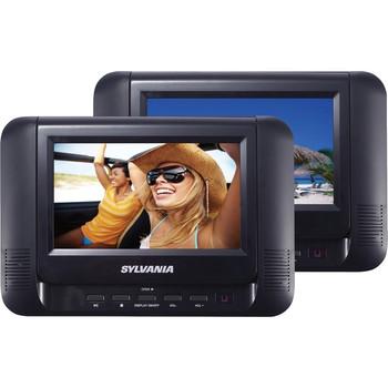 "Sylvania SDVD8791 Car DVD Player - 7"" LCD - 16:9"