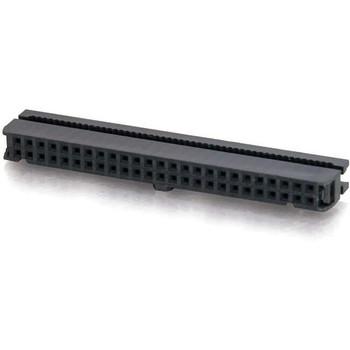 C2G 50-pin Female IDC Flat Ribbon Connector - Keyed