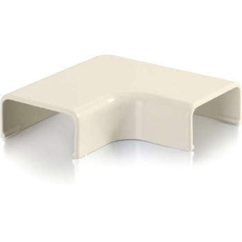 C2G Wiremold Uniduct 2800 9 Flat Elbow - Ivory