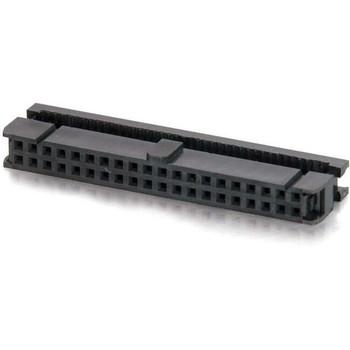 C2G 40-pin Female IDC Flat Ribbon Connector - Keyed