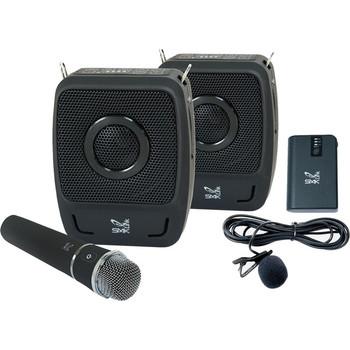 SMK-Link GoSpeak! Duet Wireless Portable PA System with Wireless Microphones (VP3450)