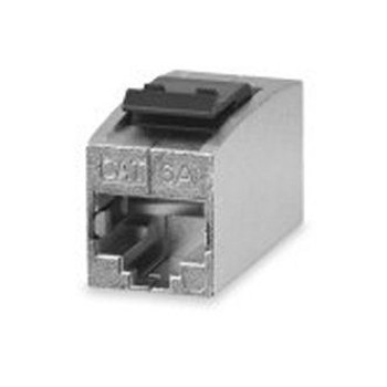Category 6A Panel Mount Feed-Thru Couple