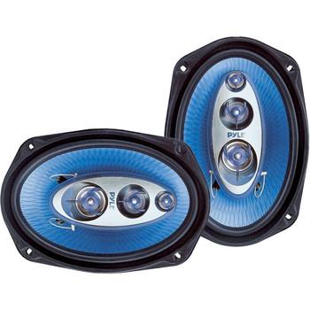 Pyle Blue Label PL6984BL Speaker - 200 W RMS - 400 W PMPO - 4-way - 2 Pack