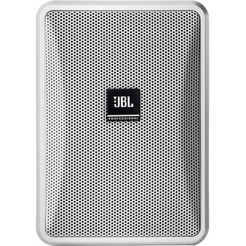 JBL Professional Control Control 23-1 2-way Indoor/Outdoor Wall Mountable, Ceiling Mountable Speaker - 100 W RMS - White
