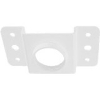Wisenet Mounting Adapter for Extension Pipe, Mounting Adapter, Ceiling Mount - White