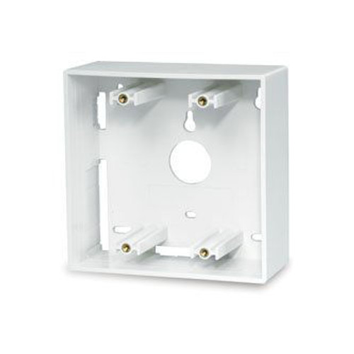 Double Gang Surface Mount BoxLight Ivory