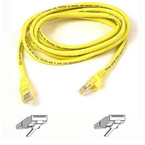 Belkin Cat5e Patch Cable A3L791-03-YLW-S