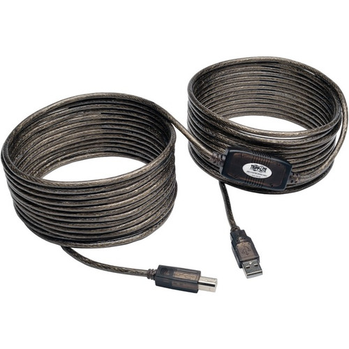 Tripp Lite 36ft USB 2.0 Hi-Speed Active Repeater Cable USB-A to USB-B M/M