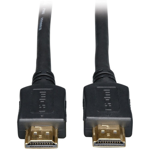 Tripp Lite High Speed HDMI Cable Ultra HD 1080p Digital Video with Audio (M/M) Black 30ft