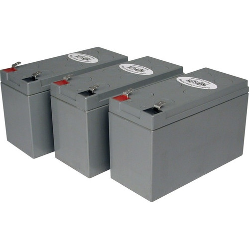 Tripp Lite UPS Replacement Battery Cartridge Kit for select UPS Brands with (3) 12V Batteries
