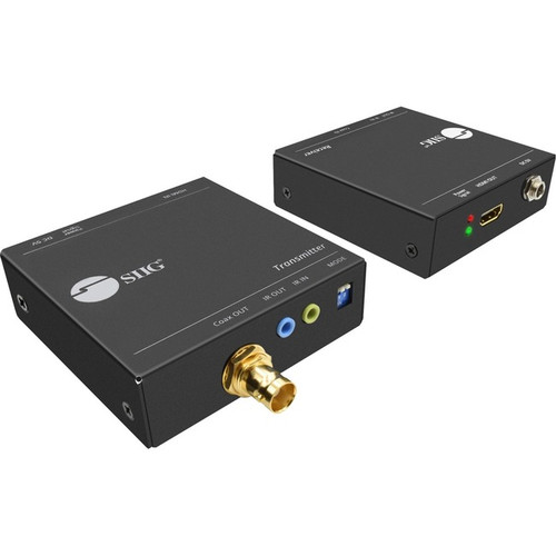SIIG 1080p HDMI over Coaxial Extender with IR