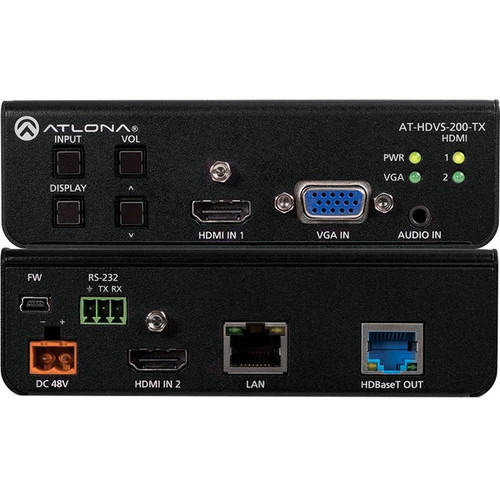 Atlona Switcher for HDMI and VGA Inputs with HDBaseT Output