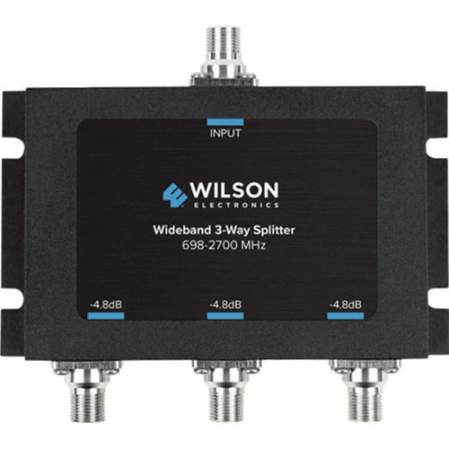 Wilson -4.8dB 3-Way Splitter 698-2700MHz, 75ohm - 850035