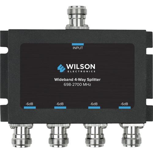 Wilson Cellular Signal Splitter 4 Way -6 dB w/N Female Connectors, 50 Ohm