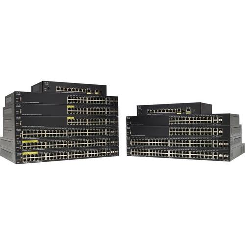 Cisco SF350-24 24-Port 10 100 Managed Switch - SF35024K9NA