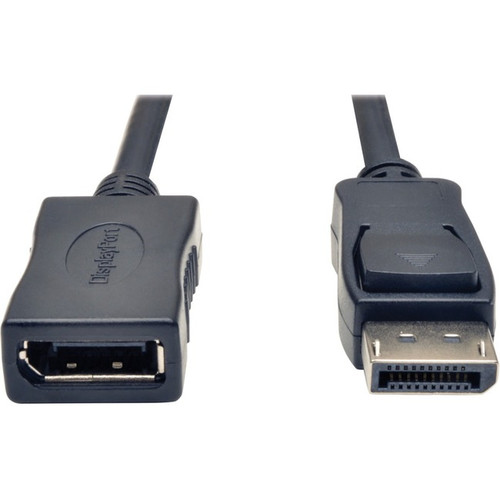 Tripp Lite 6ft DisplayPort Extension Cable with Latches Video / Audio HDCP DP Extension M/F