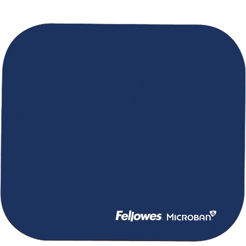 Fellowes Microban® Mouse Pad - Blue 5933801
