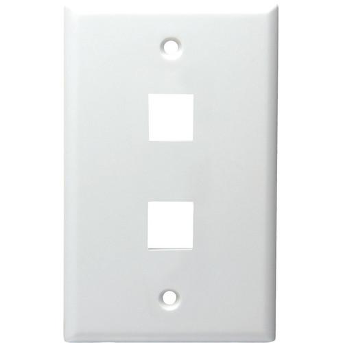 DataComm 20-3002-WH Keystone Faceplate