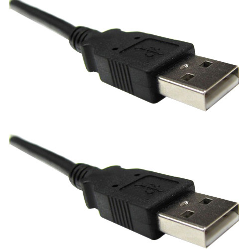 Weltron USB 2.0 A Male to A Male Cable