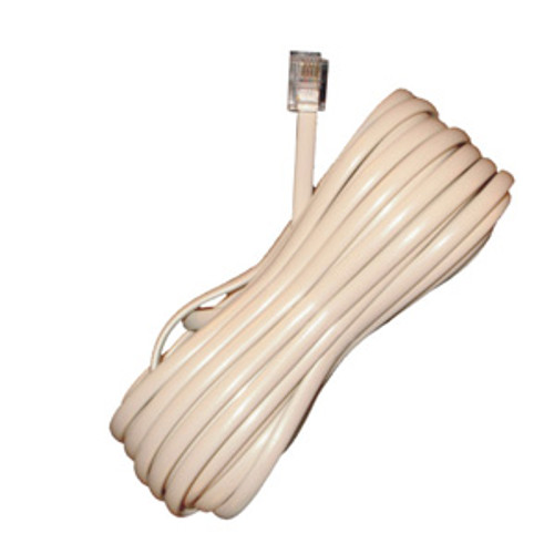 Perfect Vision PVLC25IVY 25' Modular Phone Cord - Ivory