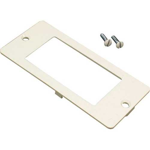 C2G Wiremold 5500 Rectangle Receptacle Faceplate Fitting for Wiremold 4000