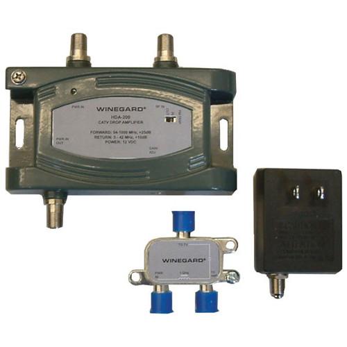 Winegard HDA-200 24dB 1GHz Digital HDTV Amplifier with Adjustable Gain