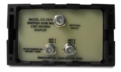 Winegard CC-7870 2-Way TV Antenna Joiner Coupler