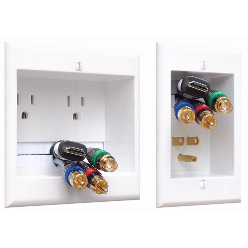 PowerBridge TWO-CK In-Wall Cable Management System for Wall-Mounted TVs