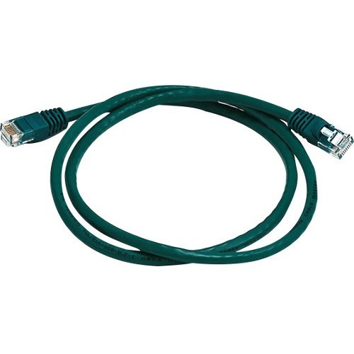 Monoprice Cat6 24AWG UTP Ethernet Network Patch Cable, 3ft Green