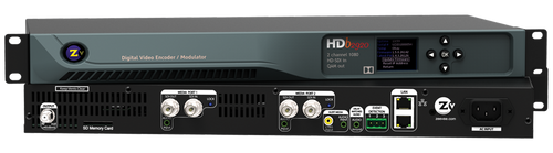ZeeVee HDbridge 2920 HD-SDI 2-Channel Broadcast Quality Digital Encoder - 1080p - Stack
