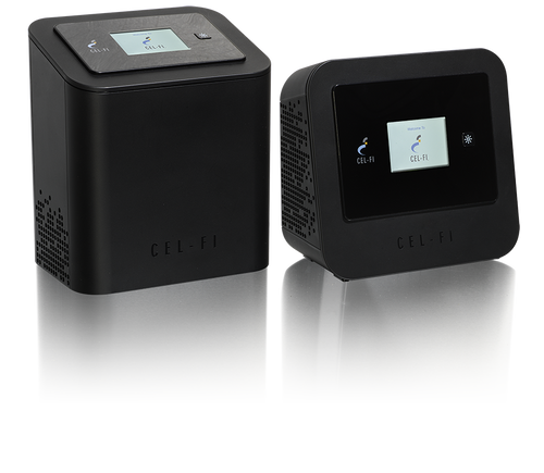 Cel-Fi PRO Smart Cell Phone Signal Booster for AT&T - 3G, 4G & 4G LTE - Network Unit and Coverage Unit
