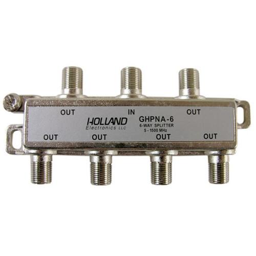 Holland Electronics GHPNA-6 IPTV Broadband Coaxial Splitter - AT&T U-Verse approved