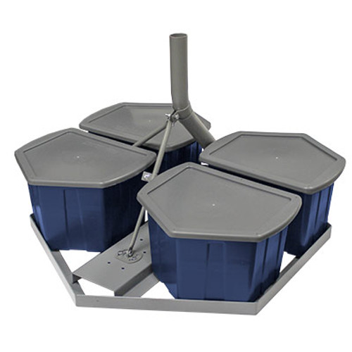 Hydro-Mount NPR9-KIT Non-Penetrating Roof Mount with Free Shipping