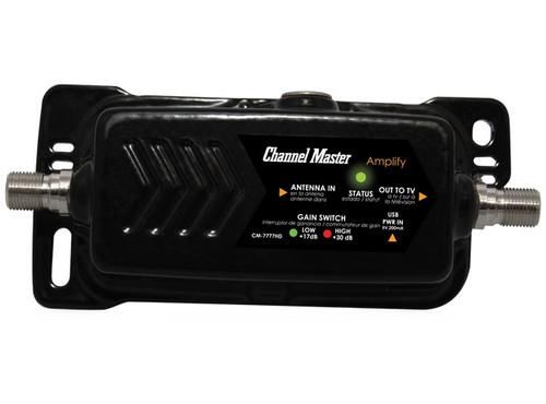 CM-7777HD Channel Master Amplify Adjustable Gain HDTV Preamplifier off-air antenna ota amplifier