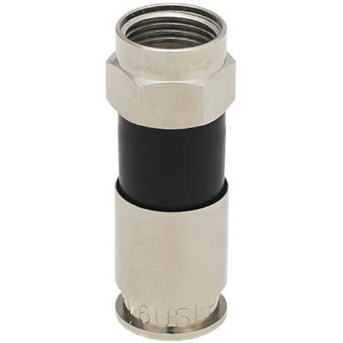 Perfect Vision PV6USLP SignaLoc Plus F-Type Universal Compression Connector for RG6 - Bag of 50