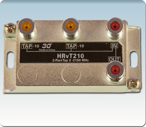 Sonora HRvT210 High Performance 10 dB Vertical Tap 2-Port 2-2400 MHz