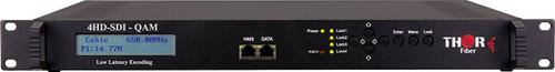Thor H-4SDI-QAM-IPLL 4-Channel HD-SDI to QAM Low Latency Encoder Modulator with IPTV - front panel