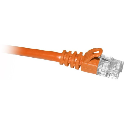 ENET Cat6 Orange 6 Foot Patch Cable with Snagless Molded Boot (UTP) High-Quality Network Patch Cable RJ45 to RJ45 - 6Ft