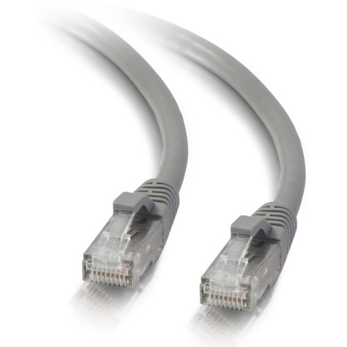 C2G 10ft Cat5e Ethernet Cable - Snagless Unshielded (UTP) - Gray