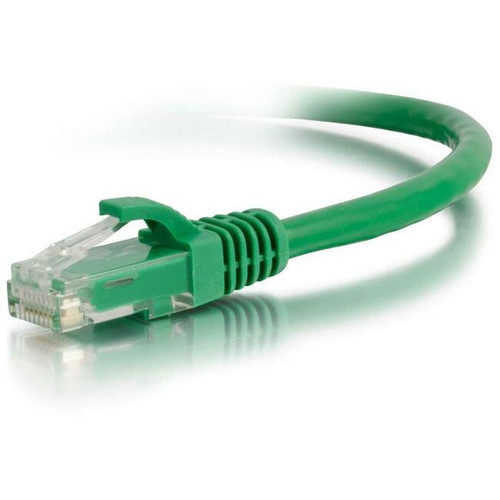 C2G-14ft Cat5e Snagless Unshielded (UTP) Network Patch Cable - Green