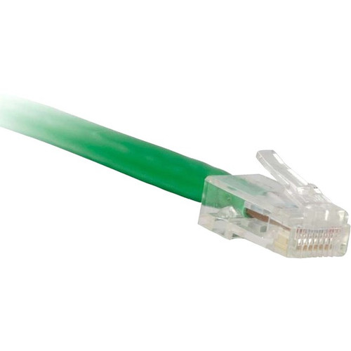 ENET Cat5e Green 5 Foot Non-Booted (No Boot) (UTP) High-Quality Network Patch Cable RJ45 to RJ45 - 5Ft