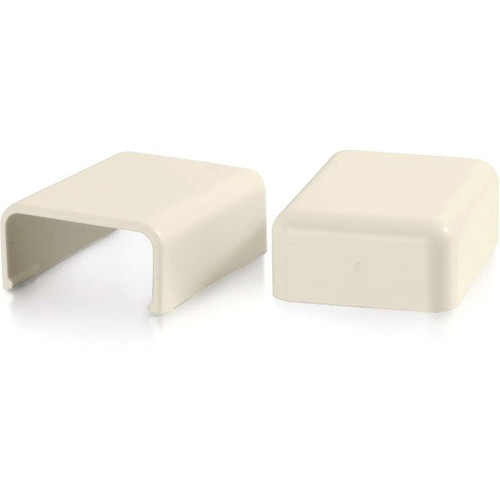 C2G Wiremold Uniduct 2800 Blank End Fitting - Ivory