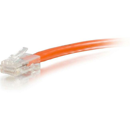 C2G-9ft Cat6 Non-Booted Unshielded (UTP) Network Patch Cable - Orange