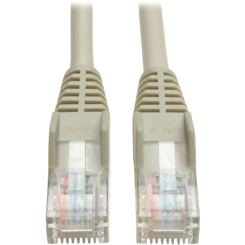 Tripp Lite 12ft Cat5e / Cat5 Snagless Molded Patch Cable RJ45 M/M Gray 12'